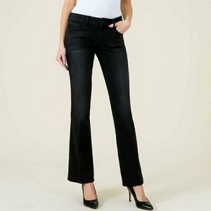 Level 99 Chloe Boot Cut Jeans 29 Petite Dark Blue